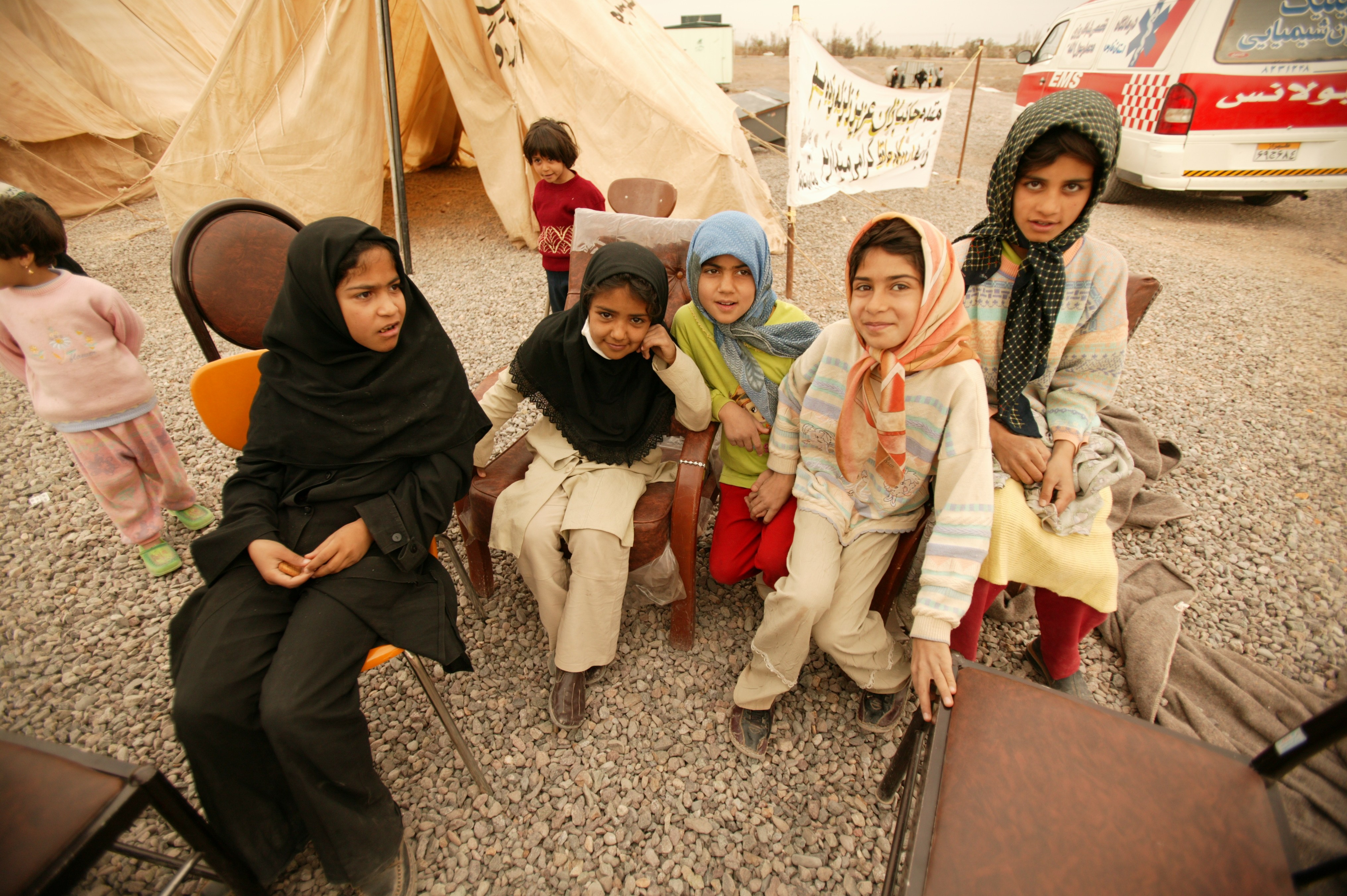 Disaster Relief Assistance in Iran