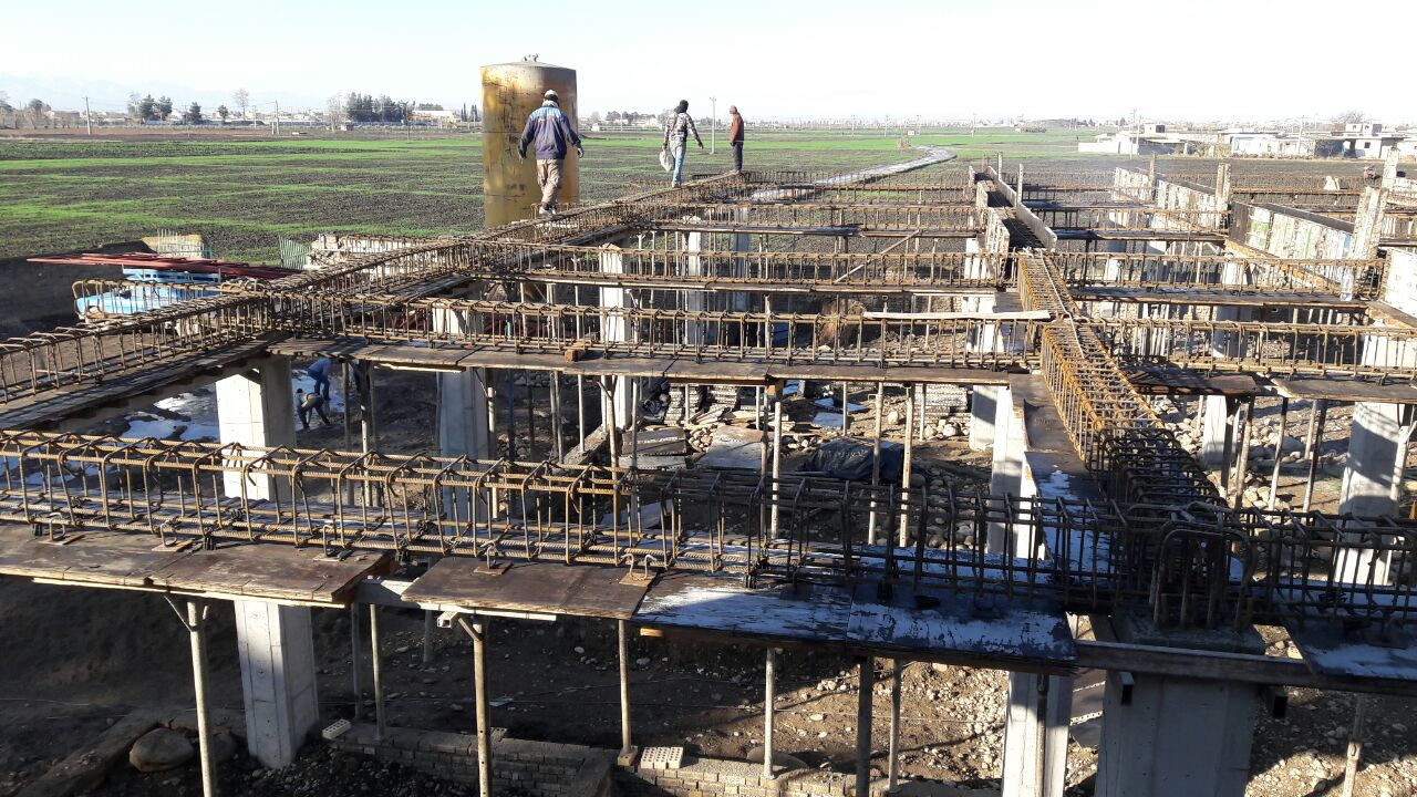 Building School in Golestan