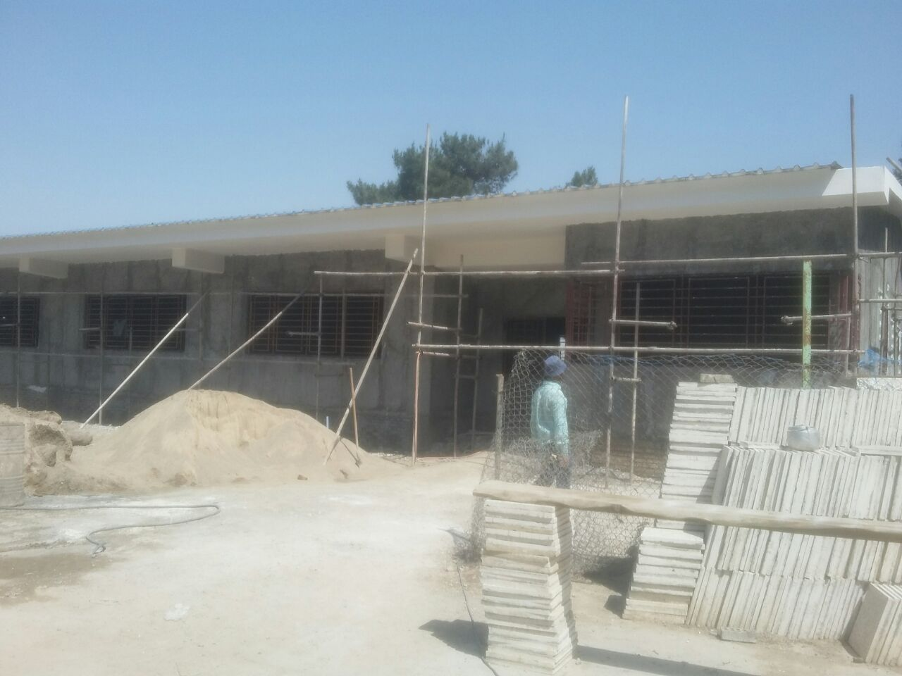Golestan Province Building School After 2019 Flooding